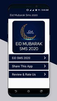 Eid Mubarak Sms Messages Status 2021 poster