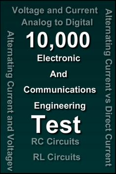 Electronics and Communication Quiz poster
