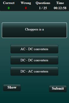 Electronics and Communication Quiz screenshot 1