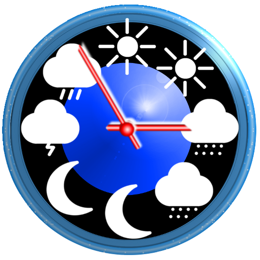Weather app & widget with barometer: eWeather HDF