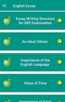 English Essay Nepal screenshot 1