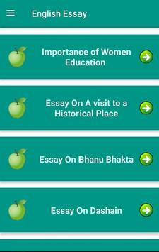 English Essay Nepal screenshot 2