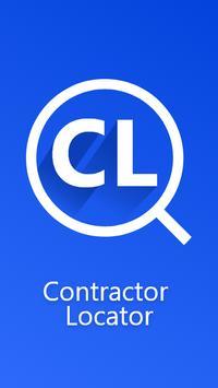 Contractor locator poster