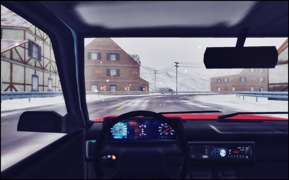 Snow Car Driving Simulator screenshot 4