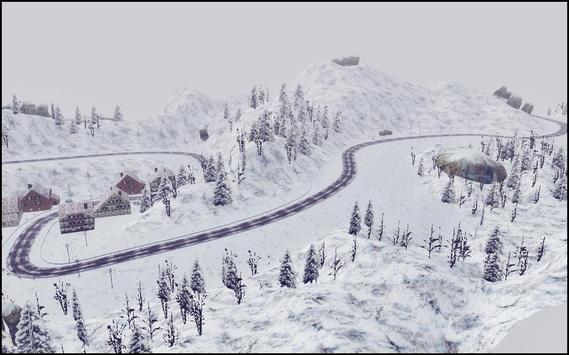 Snow Car Driving Simulator screenshot 2