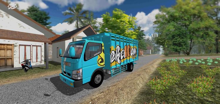ES Truck Simulator ID poster
