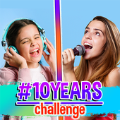 10 Years Challenge Collage Creator icon