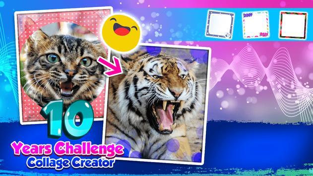 10 Years Challenge Collage Creator screenshot 4