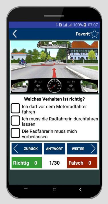 Führerschein Kostenlos - Fahrschule Theorie for Android