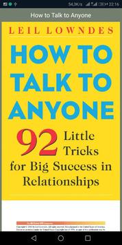 How to Talk to Anyone poster