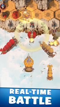 Sky Battleship - Total War of Ships تصوير الشاشة 2