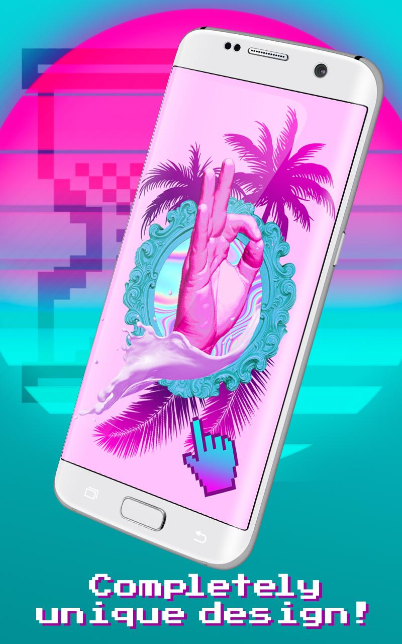 Vaporwave Live Wallpapers Aesthetic Backgrounds For Android