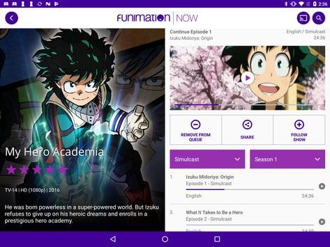 FunimationNow スクリーンショット 6