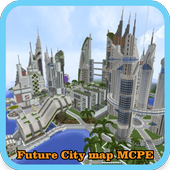 Future City map for MCPE icon