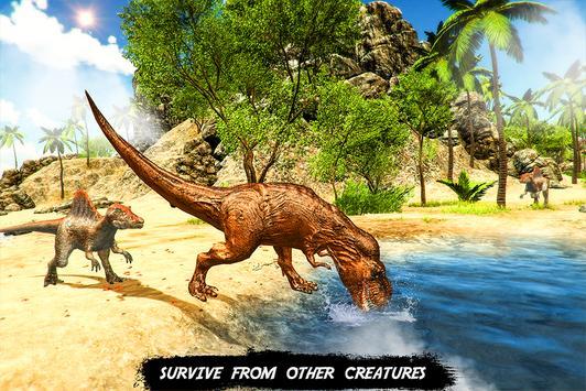Wild dinosaur family survival simulator screenshot 10
