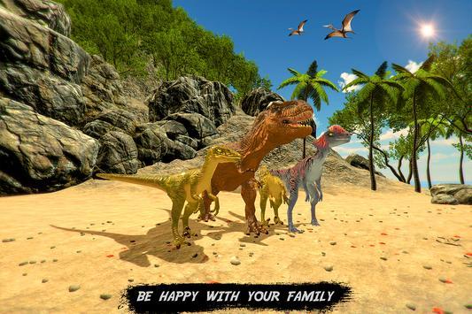 Wild dinosaur family survival simulator screenshot 4