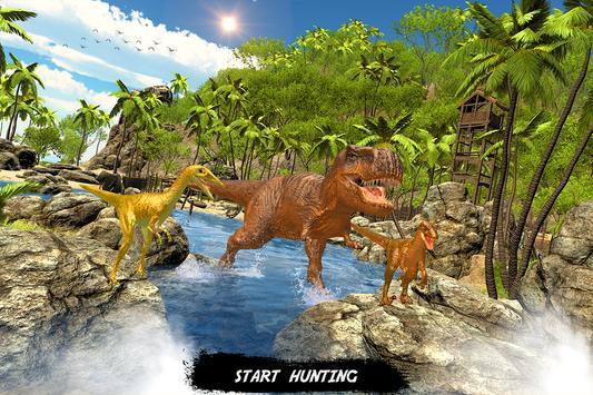Wild dinosaur family survival simulator screenshot 5