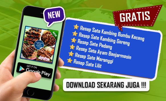 Resep Sate Enak screenshot 4