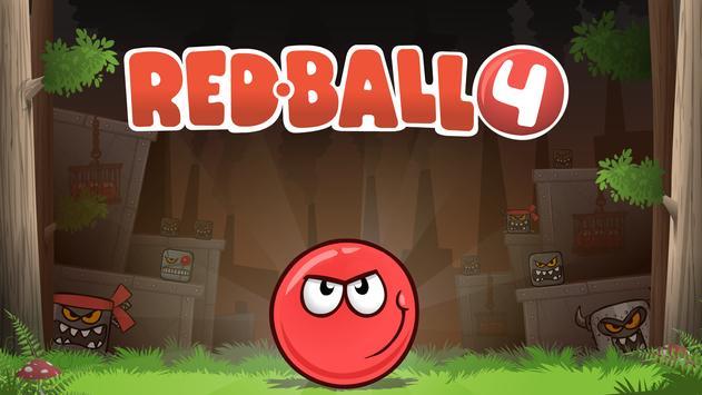 Red Ball 4 الملصق