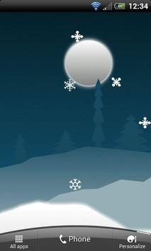 Winter Holiday Live Wallpaper screenshot 1