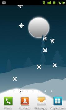 Winter Holiday Live Wallpaper screenshot 2