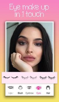 Your Face Makeup - Selfie Camera - Makeover Editor screenshot 4