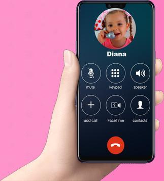 Fake call Funny Kids Prank Pro screenshot 1