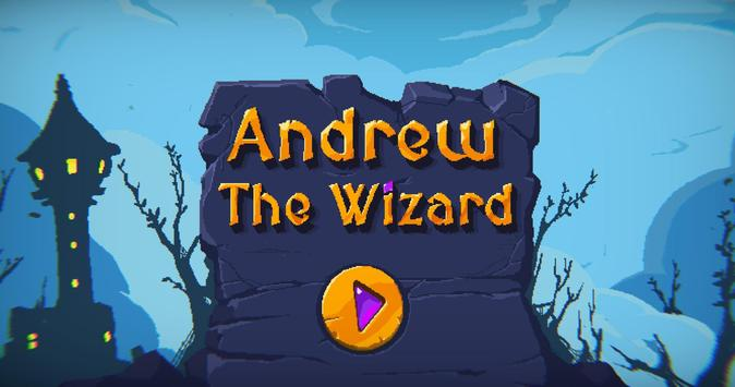 Andrew The Wizard poster