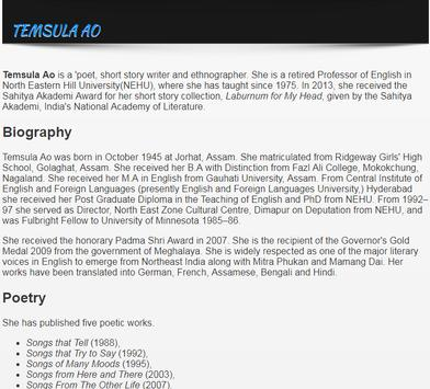 Famous Indian Poets Biographies screenshot 2