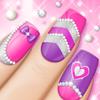 Fashion Nail Art Designs Game icon