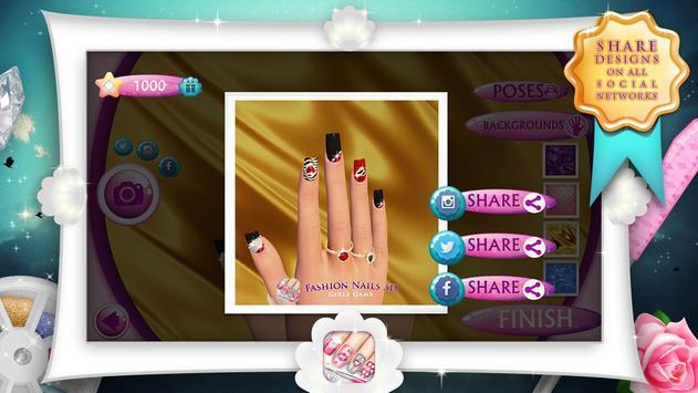 Fashion Nails 3D Girls Game4