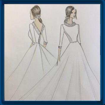 Fashion Design Sketch poster