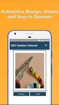 60+ DIY Fashion Design Tutorial Step by Step Easy screenshot 1