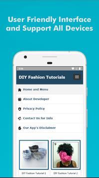 60+ DIY Fashion Design Tutorial Step by Step Easy screenshot 4