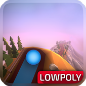 Slope Down أيقونة