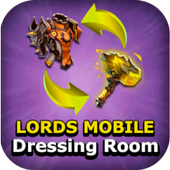 Dressing room - Lords mobile icon