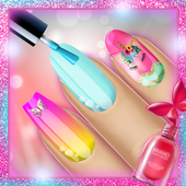 Fashion Nail Art - Manicure Salon Game for Girls icon