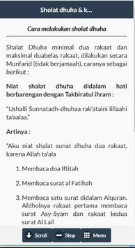 Sholat Dhuha screenshot 3