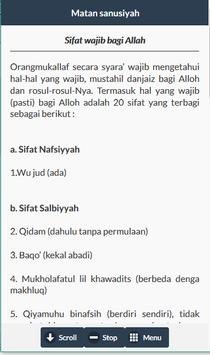 Terjemah Matan Sanusiyah screenshot 11