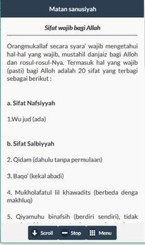 Terjemah Matan Sanusiyah screenshot 2