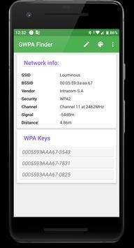 GWPA Finder screenshot 3