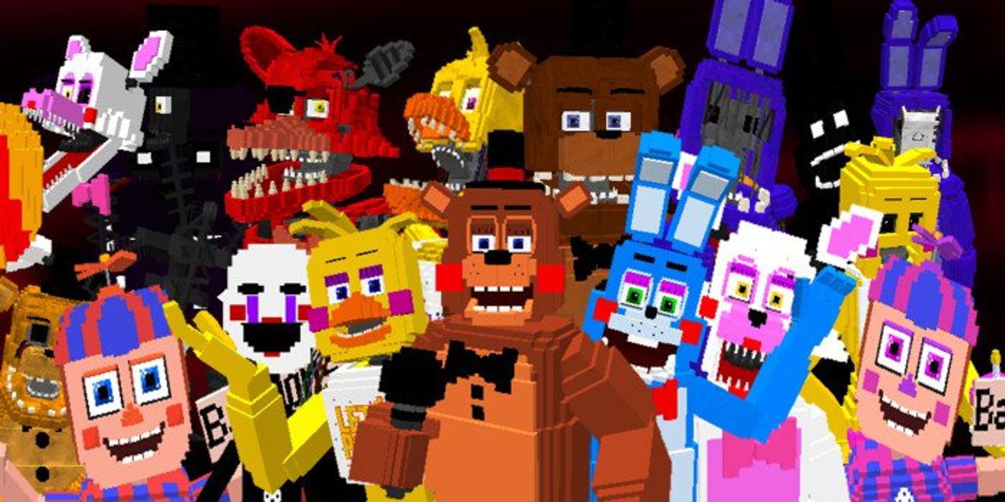 мод майнкрафт 5 ночей с фрейди на андроид #7