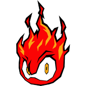 Stickers Flame icon