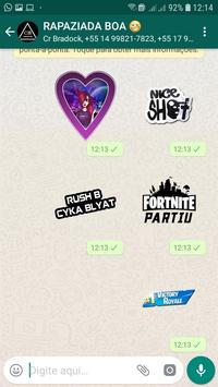 Stickers Flame screenshot 2
