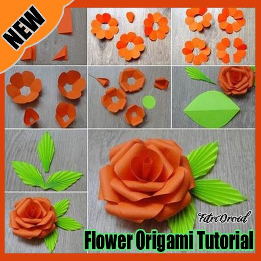 Origami Buttonhole Flowers | 512x512