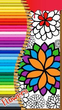 Flowers Coloring Book for Kids screenshot 1