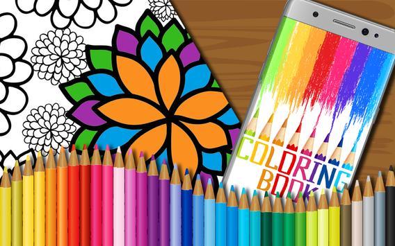 Flowers Coloring Book for Kids screenshot 6