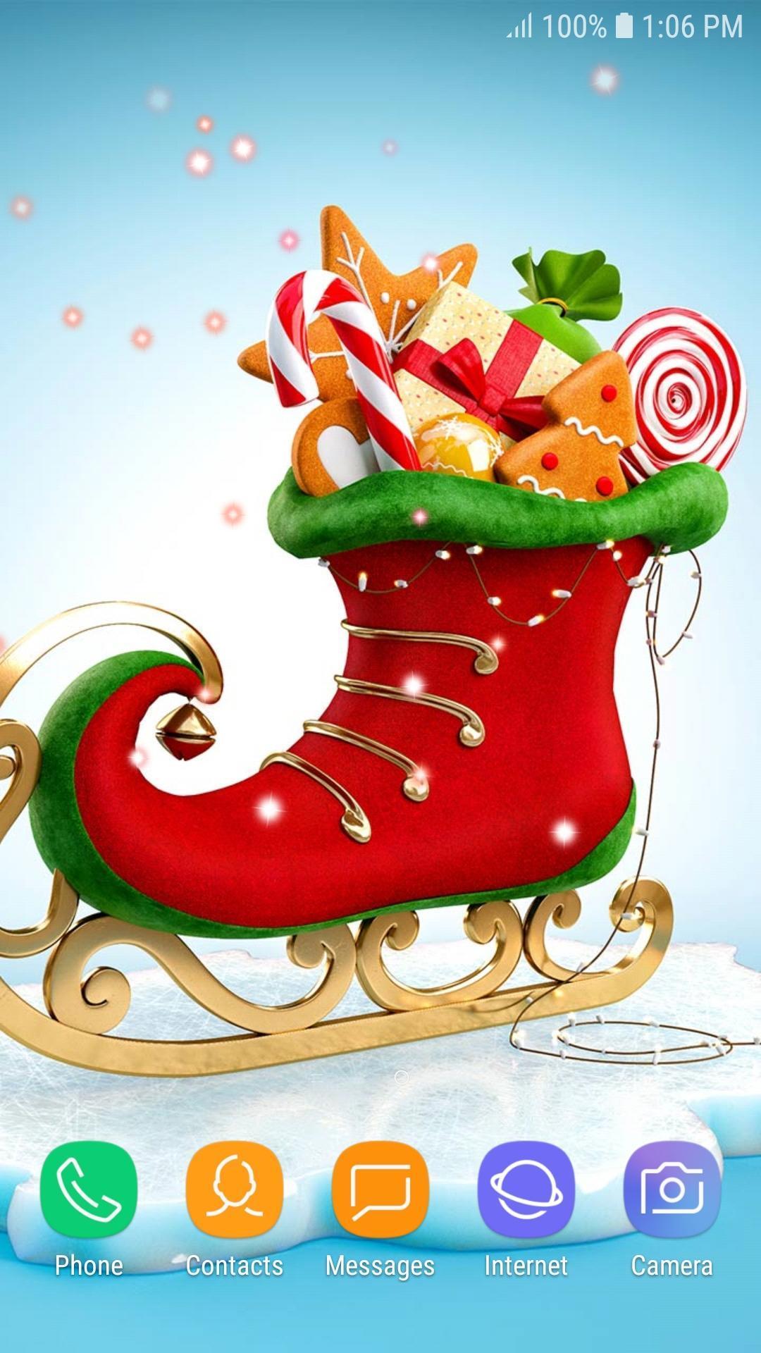 Bilder Weihnachten Animiert.Animierte Hintergründe Weihnachten Kostenlos Für Android Apk