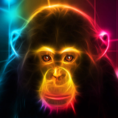 Neon Animals Wallpaper HD icon