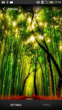 الغابات خلفية حية تصوير الشاشة 3